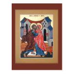 Saints Joachim and Anna Prayer Card Postcards