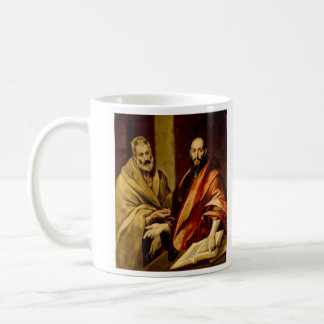 Saints Peter and Paul by El Greco Classic White Coffee Mug