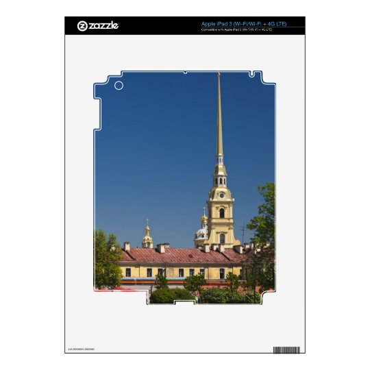 Saints Peter and Paul Cathedral Decals For iPad 3