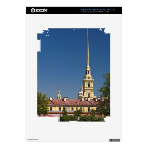 Saints Peter and Paul Cathedral iPad 3 Decals