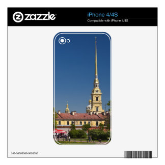 Saints Peter and Paul Cathedral Skins For iPhone 4S
