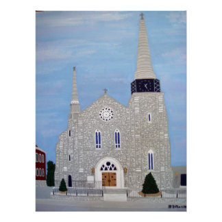 Saints Peter and Paul Catholic Church Poster