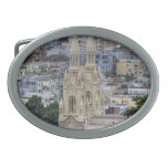 Saints Peter and Paul Church In San Francisco Oval Belt Buckles