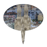 Saints Peter and Paul Church In San Francisco Cake Toppers