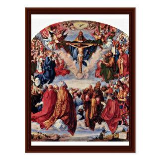 """Saints Picture ( Landau """"Altar"""") By Albrecht Dürer Postcard"""