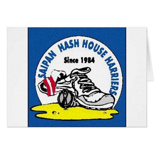 Saipan Hash House Harriers Card