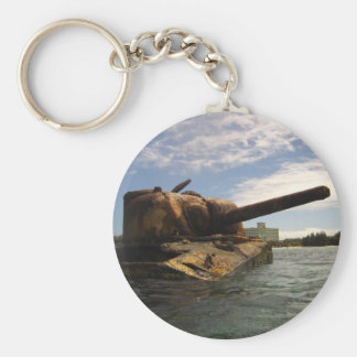 Saipan Past & Present Keychains