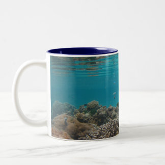 Saipan's Underworld Two-Tone Coffee Mug