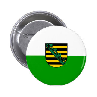 Sajonia, Alemania Pin Redondo De 2 Pulgadas