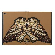 "SajuArt Zen ""Twin Owls"" ipad case"