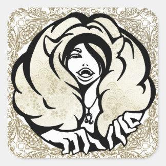 """SajuArtZen """"Zodiac Leo"""" 12 Signs Sticker"""