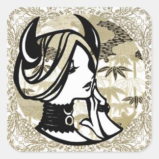 """SajuArtZen """"Zodiac Taurus"""" 12 Signs Sticker"""