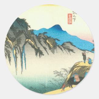 Sakanoshita Classic Round Sticker