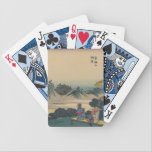 "Sakanoshita, Oriental Art Bicycle Playing Cards<br><div class=""desc"">Beautiful Sakanoshita Oriental art on great products.</div>"