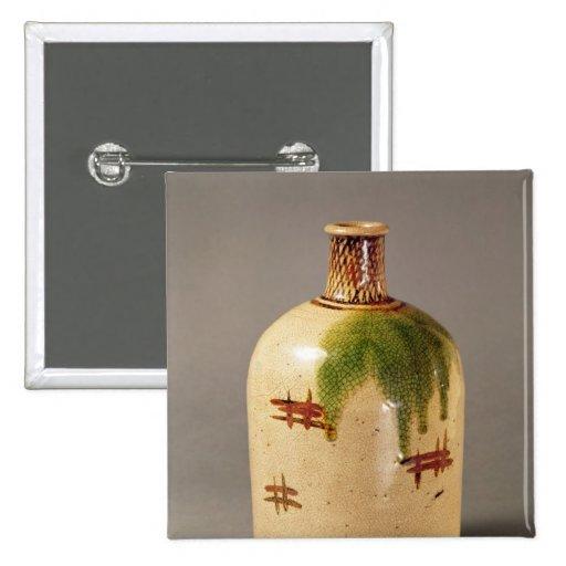Sake bottle, from Oribe Pin