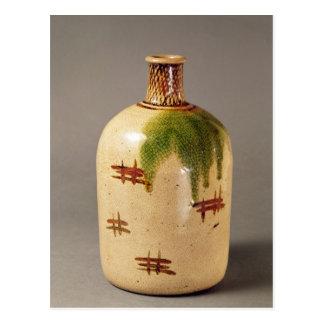 Sake bottle, from Oribe Postcard