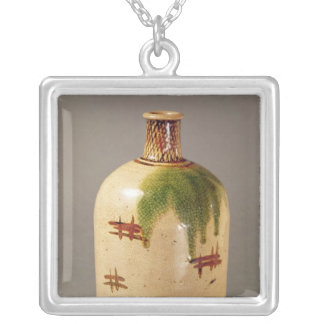 Sake bottle, from Oribe Silver Plated Necklace
