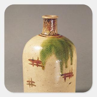 Sake bottle, from Oribe Square Sticker