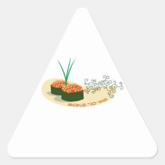 Sake To Me Triangle Sticker