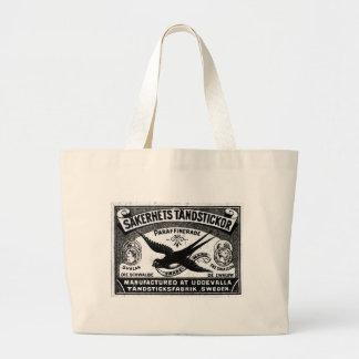Sàkerhets Tàndstickor Large Tote Bag