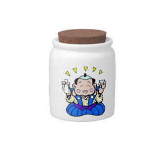 Saki Jar Candy Jar