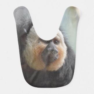 Saki Monkey Baby Bib