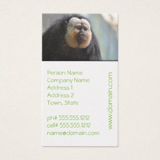 Saki Monkey Business Card