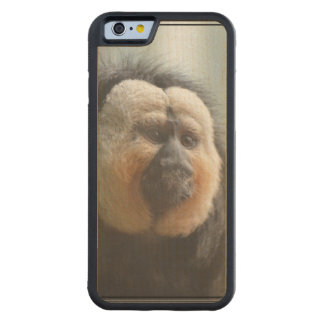 Saki Monkey Carved Maple iPhone 6 Bumper Case
