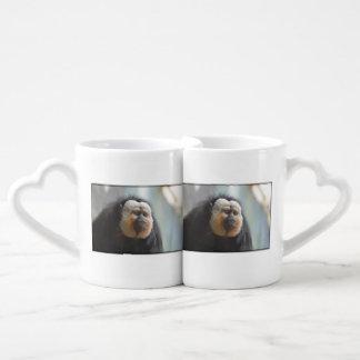 Saki Monkey Couples Coffee Mug