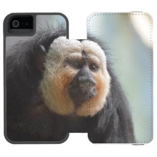 Saki Monkey iPhone SE/5/5s Wallet Case