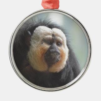 Saki Monkey Metal Ornament