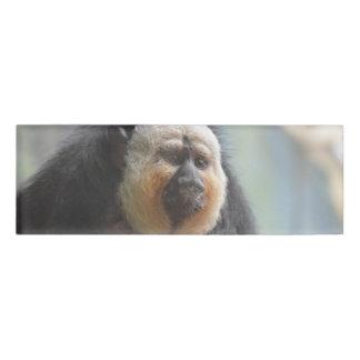 Saki Monkey Name Tag