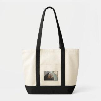 Saki Monkey Tote Bag