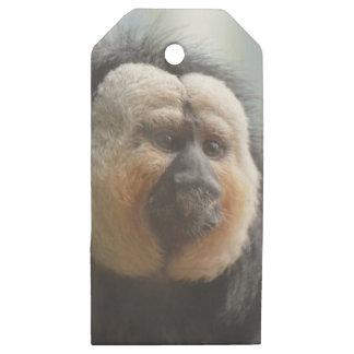 Saki Monkey Wooden Gift Tags