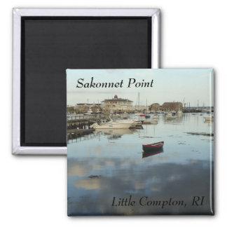 Sakonnet Point, Little Compton, RI Harbor Magnet