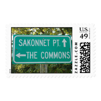 Sakonnet Point, The Commons, Little Compton, RI Postage