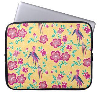 Sakura Batik Laptop Sleeve