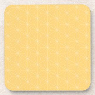 Sakura Batik Pattern Square Coaster
