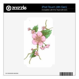 Sakura Blossoms iPod Touch 4G Decals
