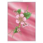 Sakura Blossoms Stationery Note Card
