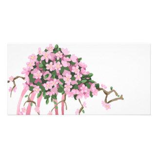 Sakura Bouquet Photo Card