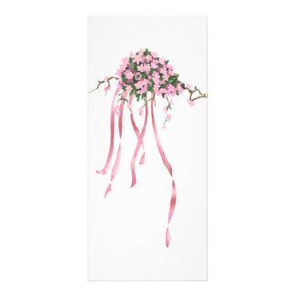 Sakura Bouquet Rack Card