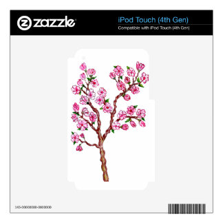 Sakura Branch Painting iPod Touch 4G Decal