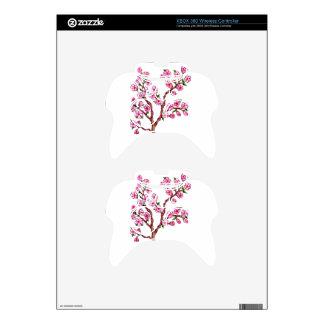 Sakura Branch Painting Xbox 360 Controller Skins