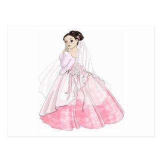 Sakura Bride Postcard