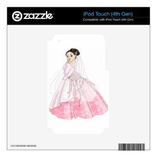 Sakura Bride Skins For iPod Touch 4G