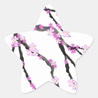 Sakura Cherry Blossom 22,Tony Fernandes Star Sticker