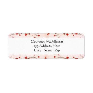 Sakura Cherry Blossom Address Labels