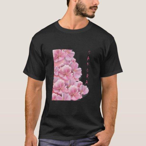 SAKURA CHERRY BLOSSOM JAPANS FAVORITE FLOWER 2 T_Shirt