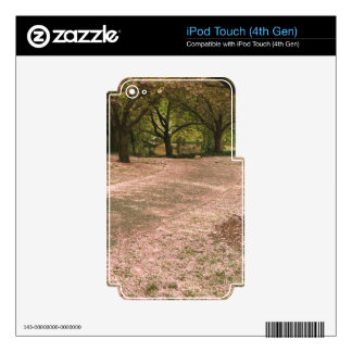 Sakura Cherry Blossom Path Decals For iPod Touch 4G